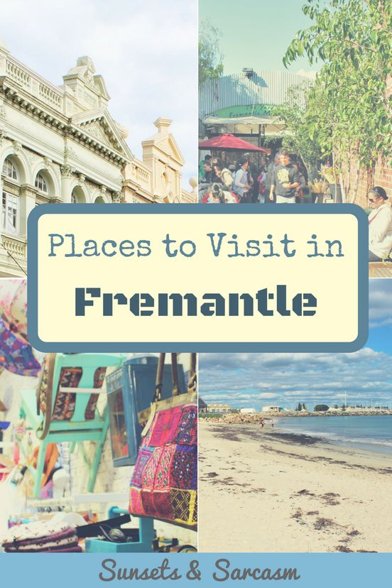 Places to visit in Fremantle - lovely beaches, where to eat and drink in Fremantle, museums, Fremantle markets and more. Make the most of your Fremantle day trip from Perth!
