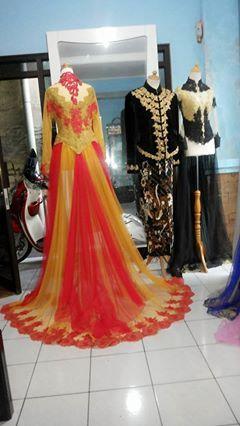 Kebaya pengantin from Cahaya Rias PEngantin Bandung