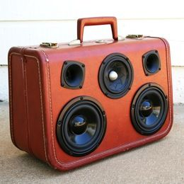 Um...YES. Vintage suitcases-turned-boomboxes from The Boomcase. !!!!!!!!!!!!!!!!!!!!!!!!!!!!!!!!!!!!!!!!!!!!!!!!!!!!!!!