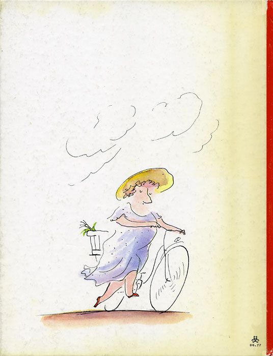 Back cover of the book Simple question of balance, 1977