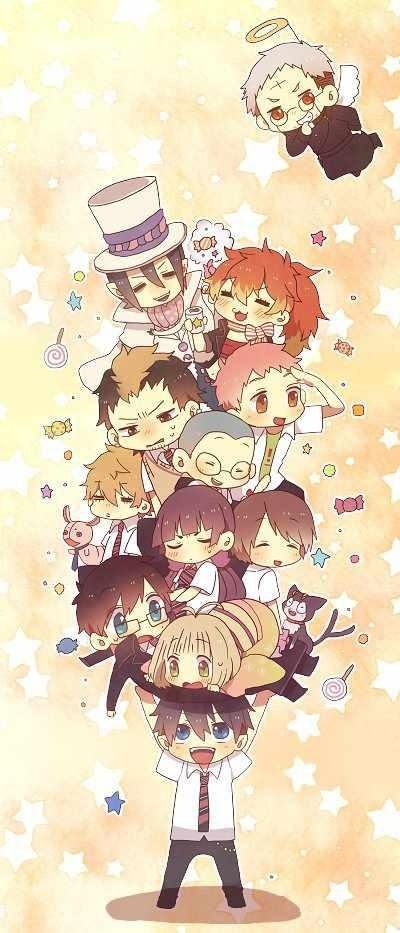 Blue Exorcist ~~ Rin carries those he loves with him wherever he goes. Including Angelic Father Shiro.