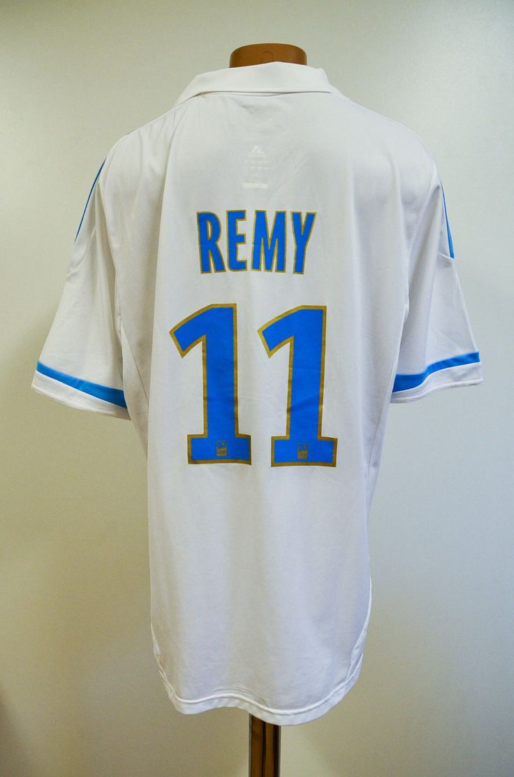 #Olympique marseille #france 2011/2012 #*bnwt* home football shirt adidas remy #1,  View more on the LINK: http://www.zeppy.io/product/gb/2/162259517798/