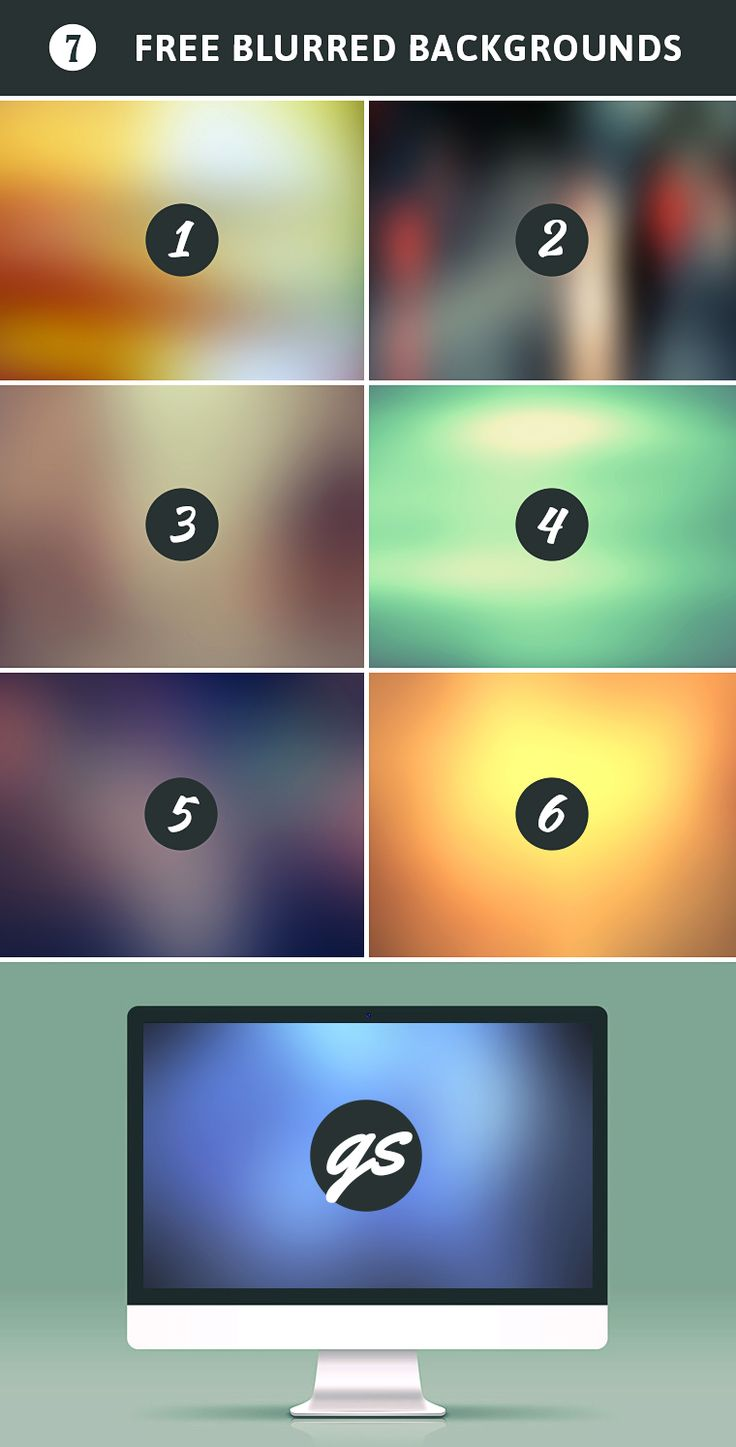 Free Blurred Backgrounds – Vol.3