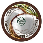 Coconut! The Body Shop Body Butter.