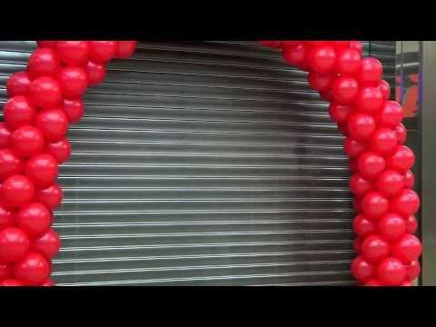 Balónová výzdoba 7 - YouTube