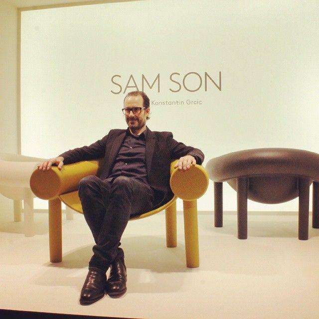 samson design konstantin grcic via magis design. Black Bedroom Furniture Sets. Home Design Ideas