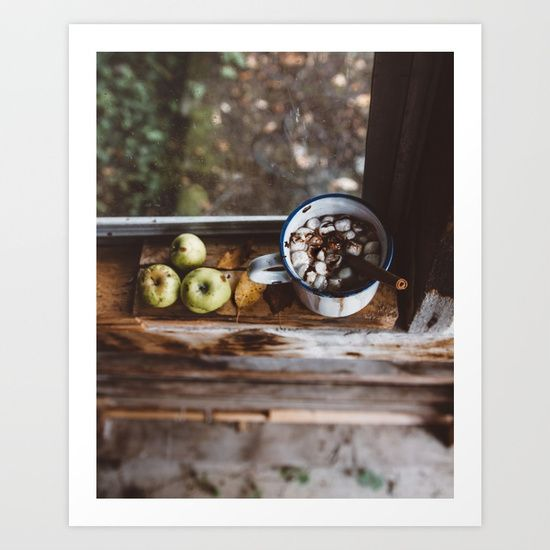 Taste of Autumn Art Print by Rustic Bones. Worldwide shipping available at Society6.com. Just one of millions of high quality products available.