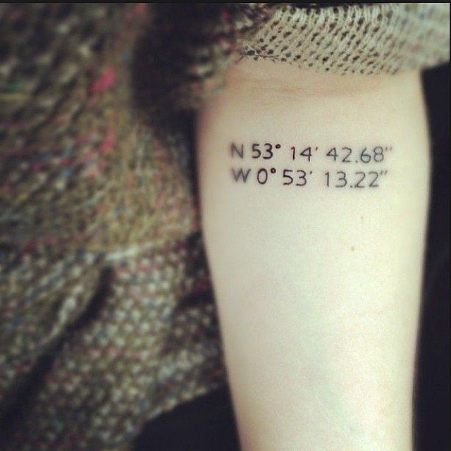 get the coordinates of where i get married or honeymoon or favorite vacation; any significant date i want to remember