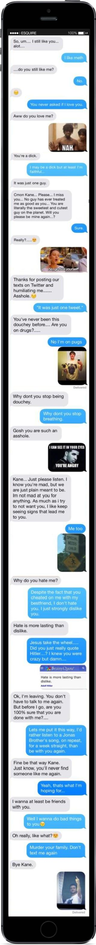 iPhone Meme Breakup  - Seventeen.com