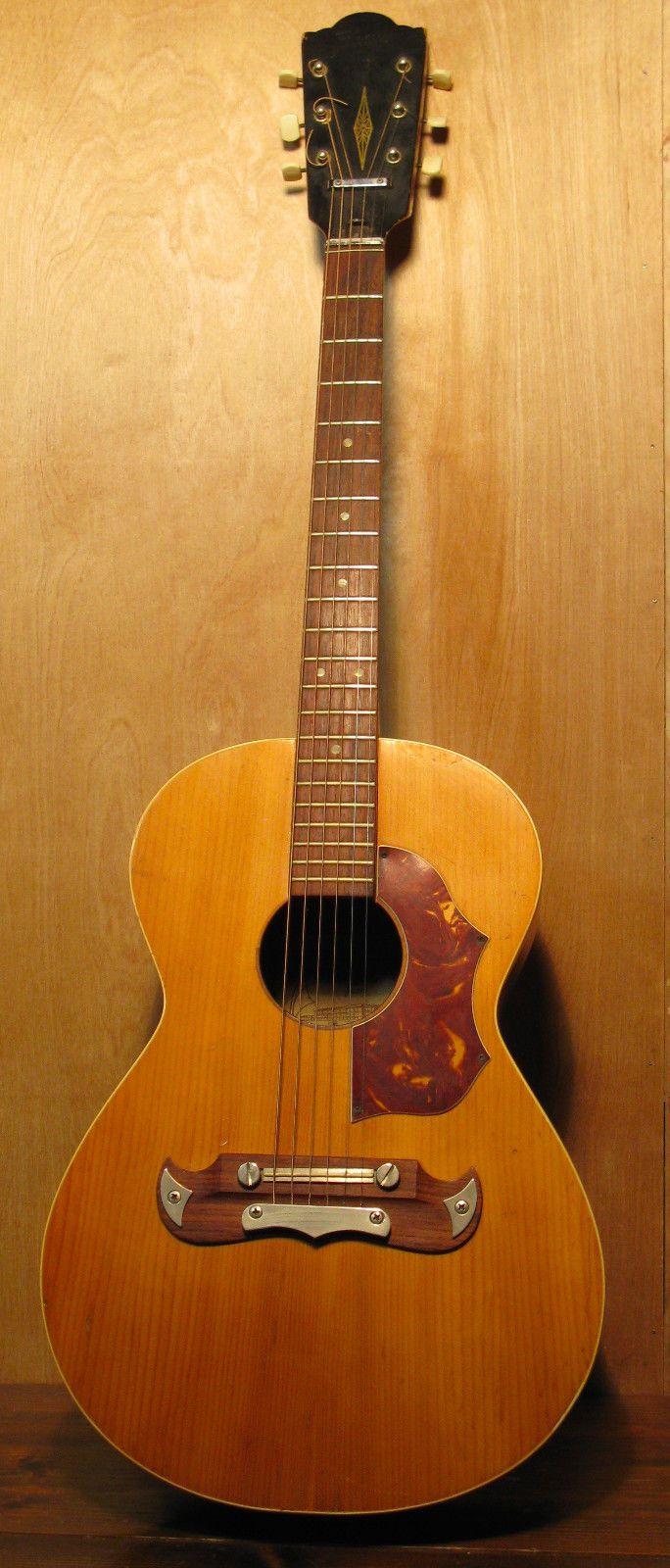 Vintage 60 S Framus Gaucho 5 194 Acoustic Guitar Made In Germany Vintage Guitars Guitar Fender Acoustic Guitar