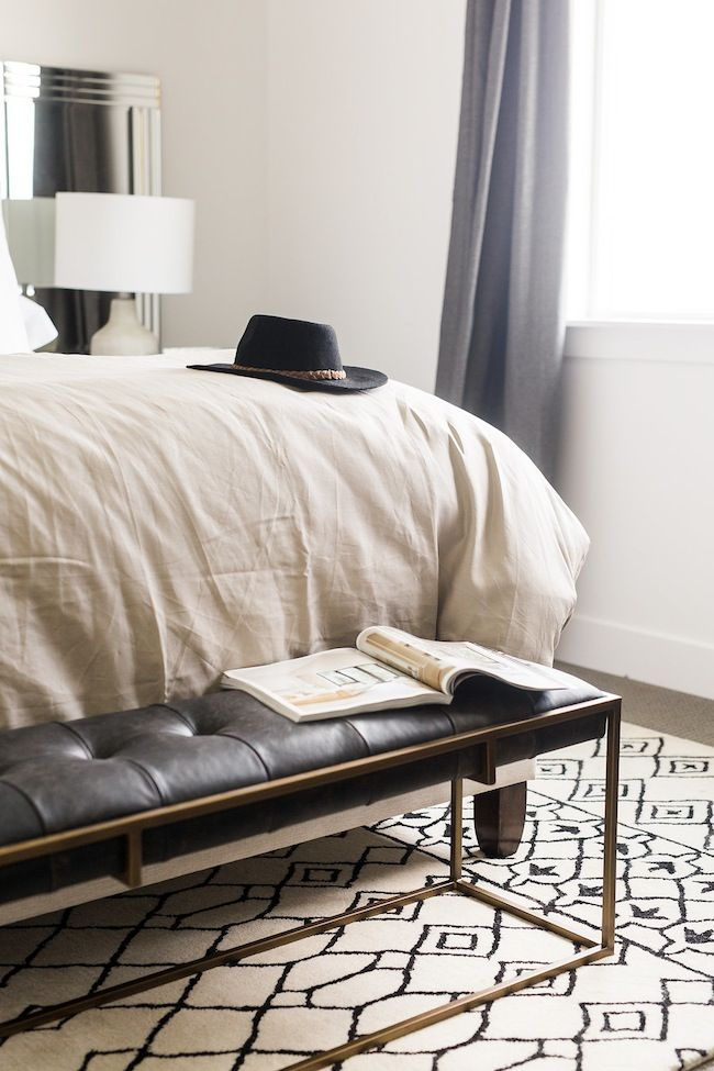 Bedroom Bench Chambre Pinterest Bench Bedrooms And