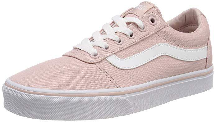 Vans Damen Ward Canvas Sneaker, Pink Sepia Rose Oln, 38 EU ...