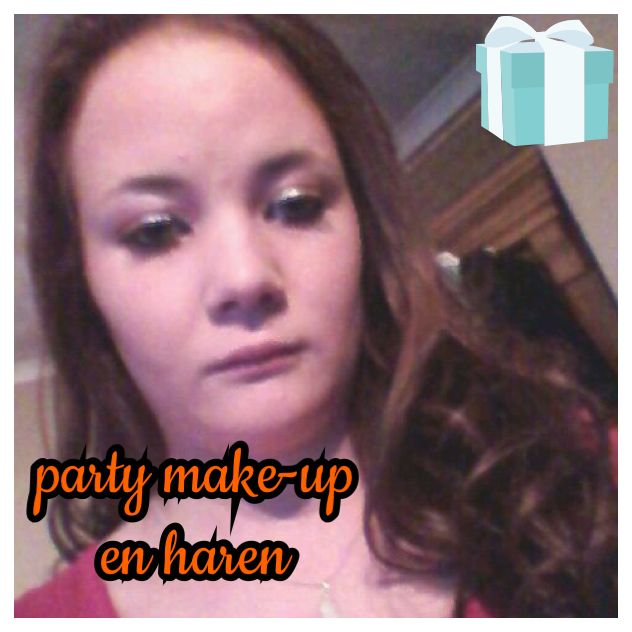 feest make-up en haren