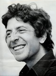 The gorgeous young leonard cohen