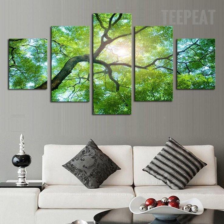 Park Art My WordPress Blog_Green Wall Art Framed