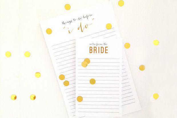 Get Organised – 10 Wedding Planning Notebooks for Brides | weddingsonline