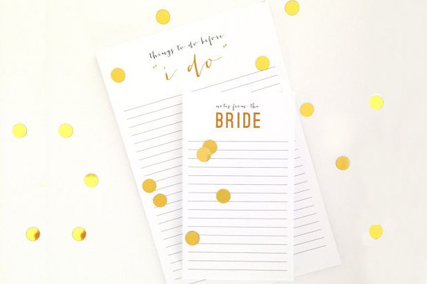 Get Organised – 10 Wedding Planning Notebooks for Brides | weddingsonline