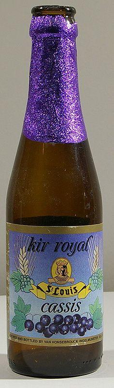 Brouwerij Van Honsebrouck N.V. - St. Louis Cassis Kir Royal (Lambic) 4,5% pullo
