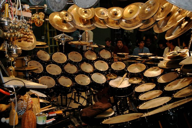 "Terry Bozzio ""Drum Kit"" INSANEEEEEEEEE KITTTT hahahha"