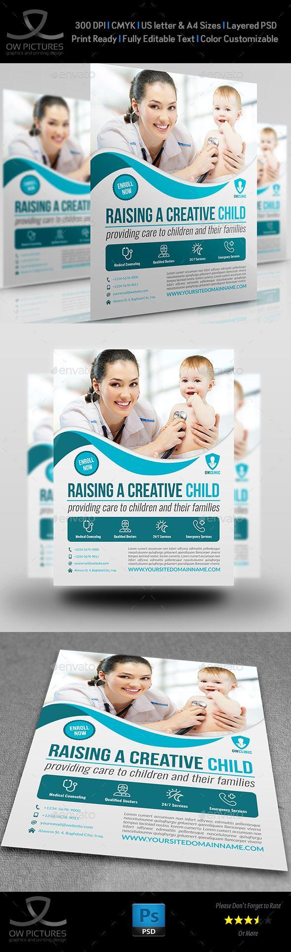 128 best Medicine Flyer / Print Templates / PSD images on Pinterest ...