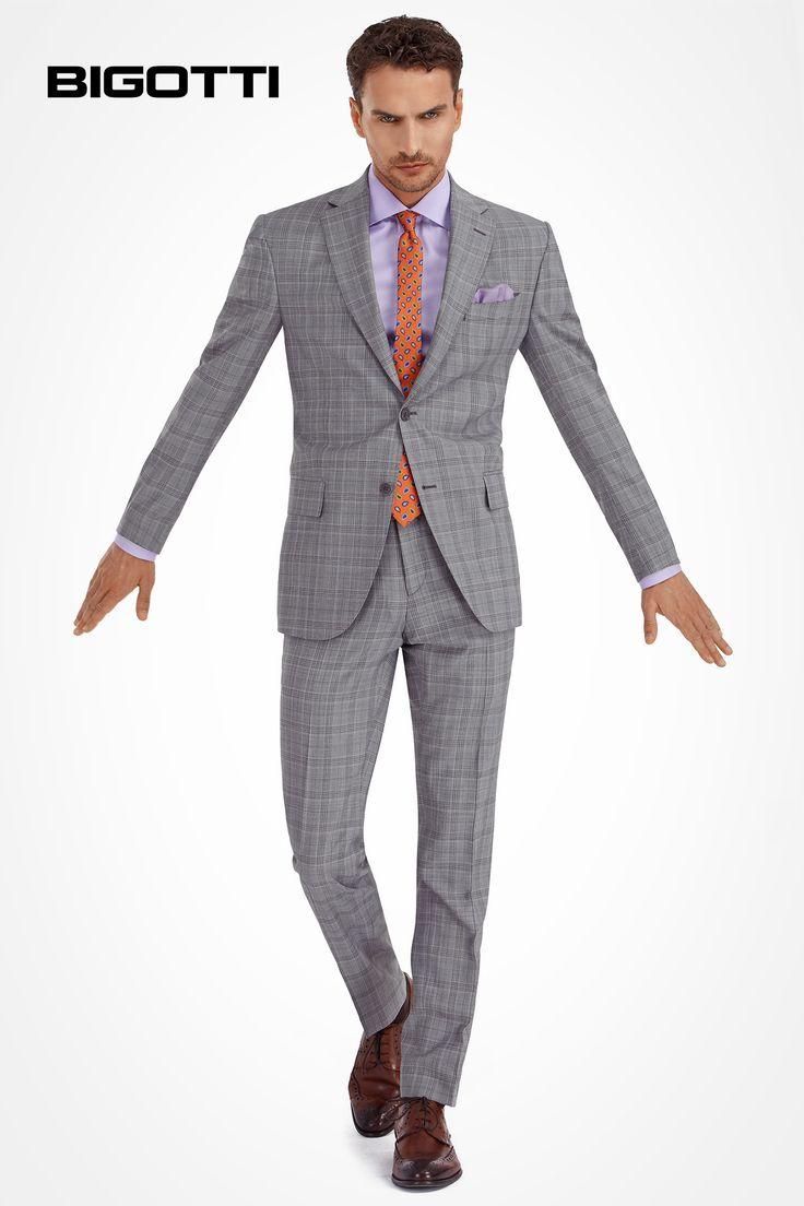 The #grey #suit - #simultaneously #classic and #modern, #efortless and #refined www.bigotti.ro #Bigottiromania #moda #barbati #followus #costume  #gri #ootdmen #ootd #mensfashion #menswear #mensclothing #mensstyle #wardrobe #staple