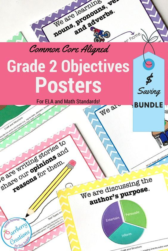 Do you need to write your student learning objectives on the board everyday? Save time with these chevron printable standards posters!