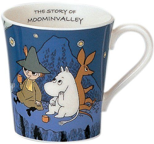 Moomin Valley Mug Cup Yamaka Comet Blue Snufkin from Japan Gift Best Buy | eBay