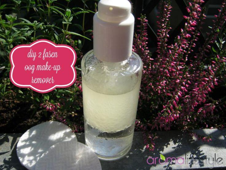 Oogmake up remover, reinigt zacht ook waterproof make up.