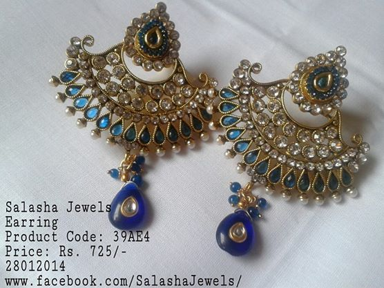 To inquire or purchase email us on SalashaJewels@GMail.Com or just leave a comment on the photo Salasha Jewels will contact you back !!!  Like our page www.facebook.com/salashajewels/  Disclaimer: We have provided the best click and description possible. But due to different screen resolutions the actual colour may vary a bit.