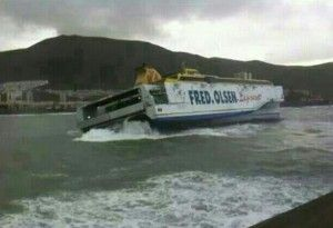When the Weather is bad in Tenerife it is best to avoid the ferry crossings!