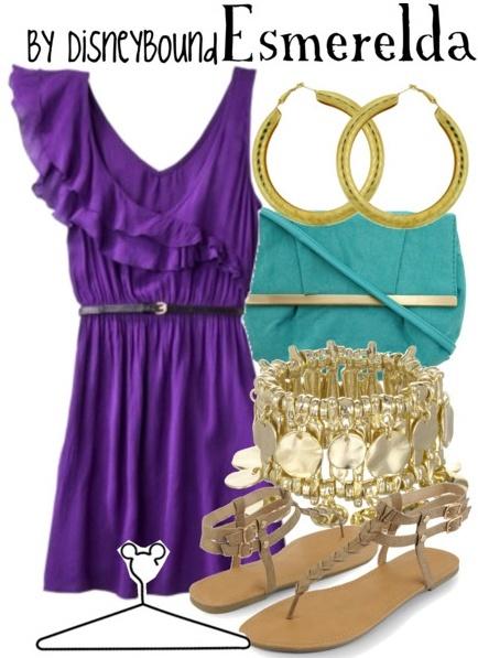 disneybound: Inspiration Outfits, Gypsy Style, Disney Style, Disney Clothing, Disneybound Clothing, Disneybound Outfits, Disney Bound, The Dresses, Disney Movie