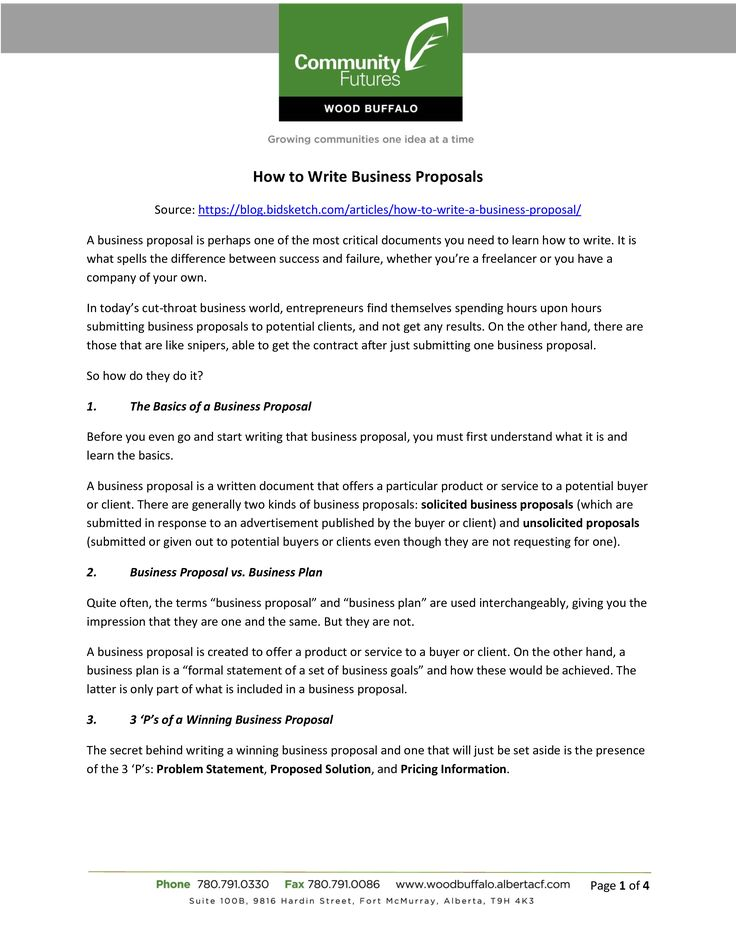 Business Proposal Letter Writing How to write a Business