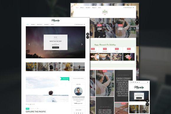 Akusara - Multipurpose Blog Theme by Balikucreative on @creativemarket