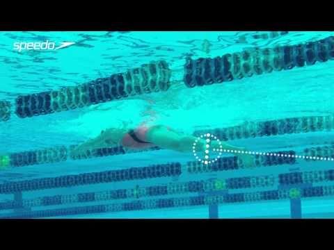 Jesscia Hardy   Breaststroke Kick - Swim Technique - YouTube