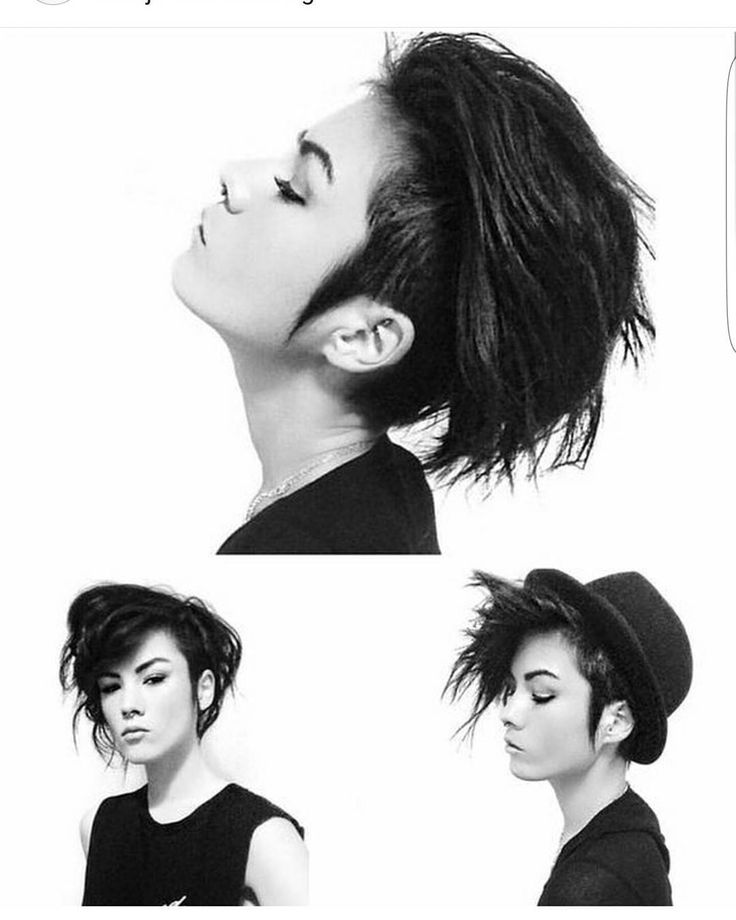 46 Edgy Kids Mohawk Ideas That They Will Love: 17 Best Ideas About Short Shaved Hairstyles On Pinterest