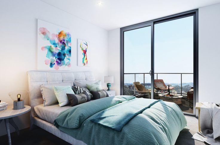 Motive Apartmens West Leederville - Bedroom! www.developwise.com.au/motive