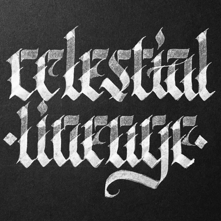 Celestial Lineage. This was done with diluted white ink on black composite paper. The diluted ink requires layering to build the tones. Fun way to spend a rainy Sunday! • • #art #artist #artwork #calligraphy #calligraffiti #blackletter #abstract #abstractart #fraktur #gothic #metal #lettering #handlettering #handwritten #script #ink #type #typography #50words #typism #instaart