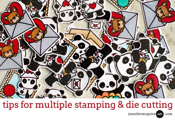 Tips for Multiple Stamping & Die Cutting + MISTI Giveaway