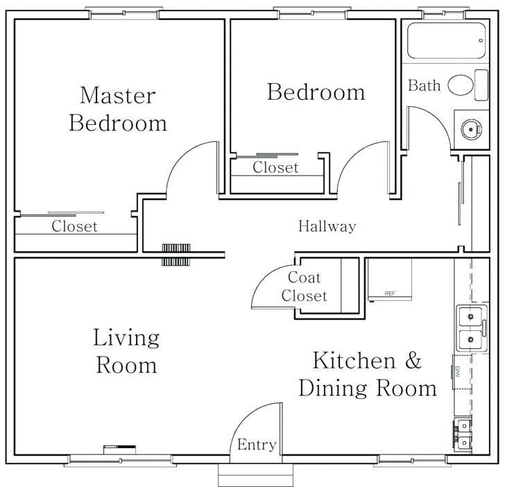 Autocad 2d Floor Plan Design Ideas Floor Plan Design House Floor Plans Floor Plan Drawing
