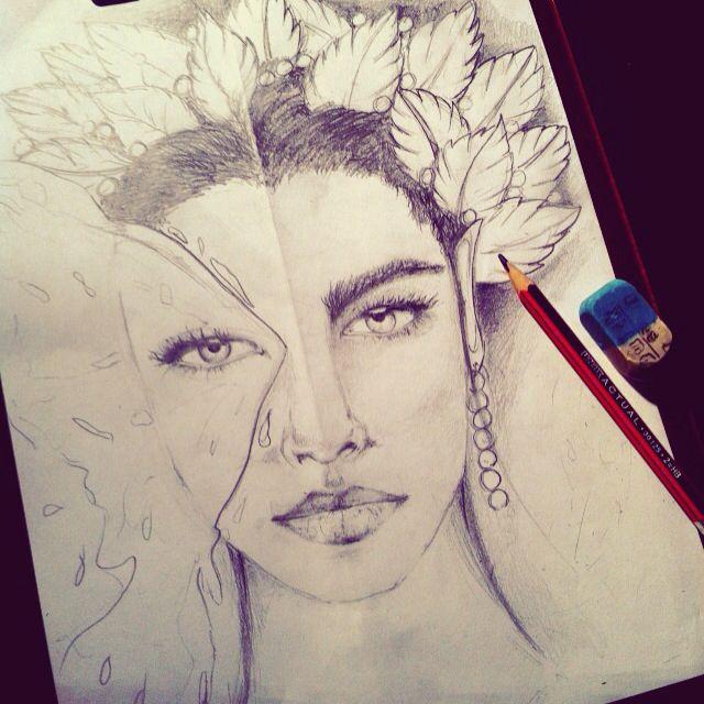 My art  Liviana ink tattoo #woman #ink #draw #art #tattoo #inktattoo #arte #disegno #donna #disegnodonna #ritratto #ritrattodonna