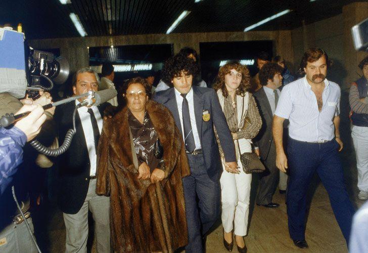 El Dieguito Maradona + Dona Tota.