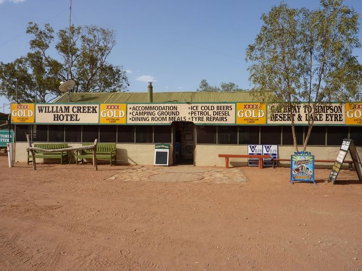 Outback Australia - William Creek Hotel