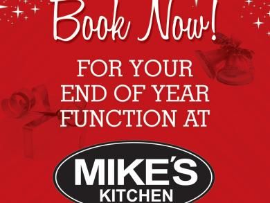 Mike's Kitchen Milnerton & N1 City - Book Now for your End of Year Function
