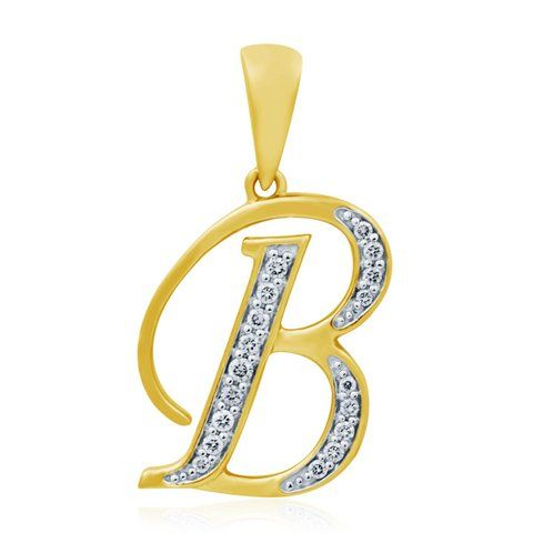 Style No.:Alphabetical Pendant PPD-00898 Diamond Weight:0.13 Ct Price  : 11157.00  NO OF STONE-18 SHAPE -ROUND COLOR-FG CLARITY- SI CERTIFICATE - IGI GOLD WEIGHT -2.2gm GOLD PURITY - 14kt GROSS WEIGHT - 02.22gm Chain not included