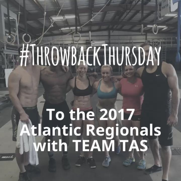#tbt TEAM TAS in Atlanta at the #crossfitgames 2017 Atlantic Regionals.  #tascrossfit #athlete #crossfit #metcon #tampa #fitness #813 #tampacrossfit #crossfitgirls #crossfitguys #fit #mechanics #consistency #intensity #FYIF #community