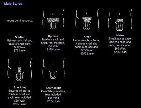 Male Brazilian Chart enjoy.............. - skincareprofessionals.com