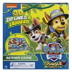 Paw Patrol Snakes And Ladders 3D Assorted
