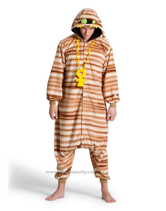 Halloween Mummy Onesie Costume