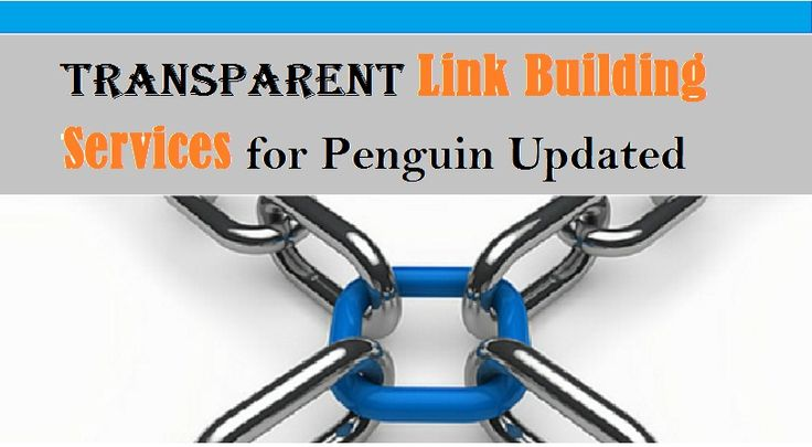 The modern link building services are transparent these days with all details of links and providing Google penguin updated links.    #LinkBuildingTips #LinkBuildingGuide #QualityLinks