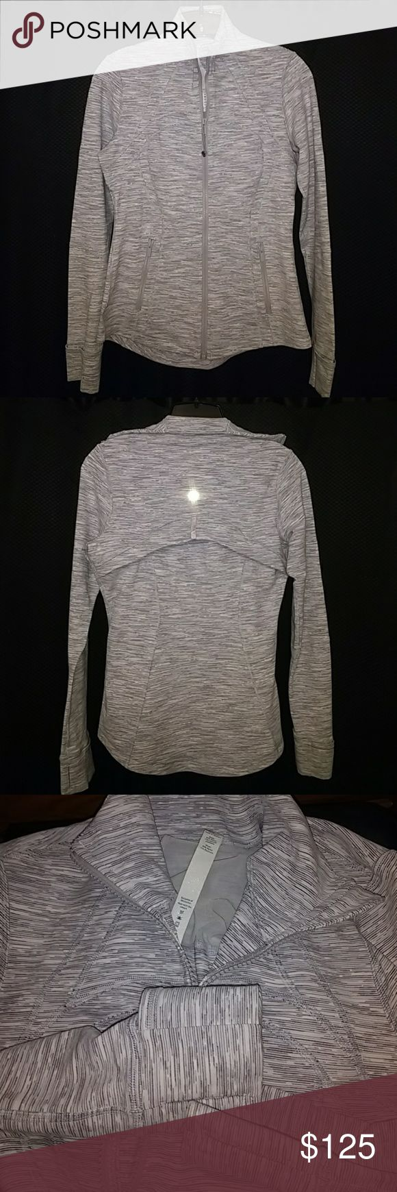Lululemon Wee Are From Space Define Jacket This is super cool! It's great for layering and lightweight. Pretty much like new, just not my color!   • Lululemon Wee Are From Space Define Jacket - Silver Spoon lululemon athletica Jackets & Coats